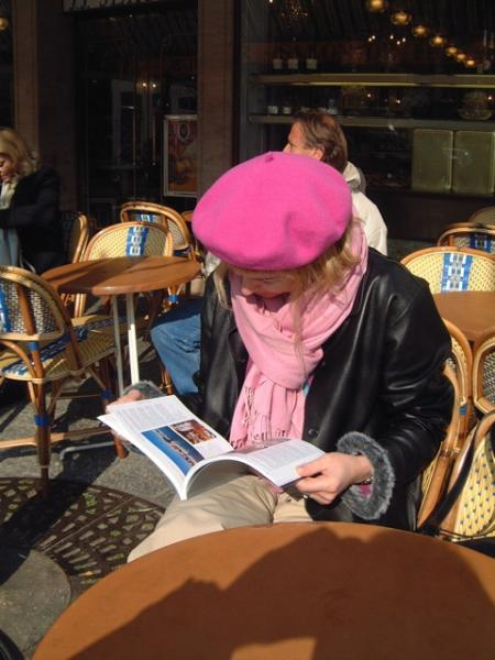 Painting in Deauville (2002)