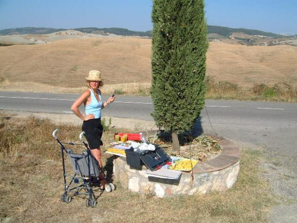 Painting in Tuscany (1999)